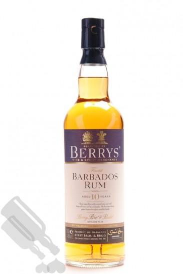Barbados Rum 10 years 2004 Berrys'