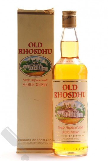 Old Rhosdhu 5 years - Old Bottling