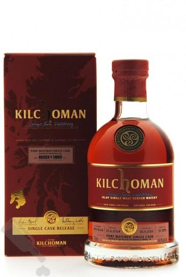 Kilchoman 2014 - 2019 #470/2014 Port Matured Single Cask for B&T
