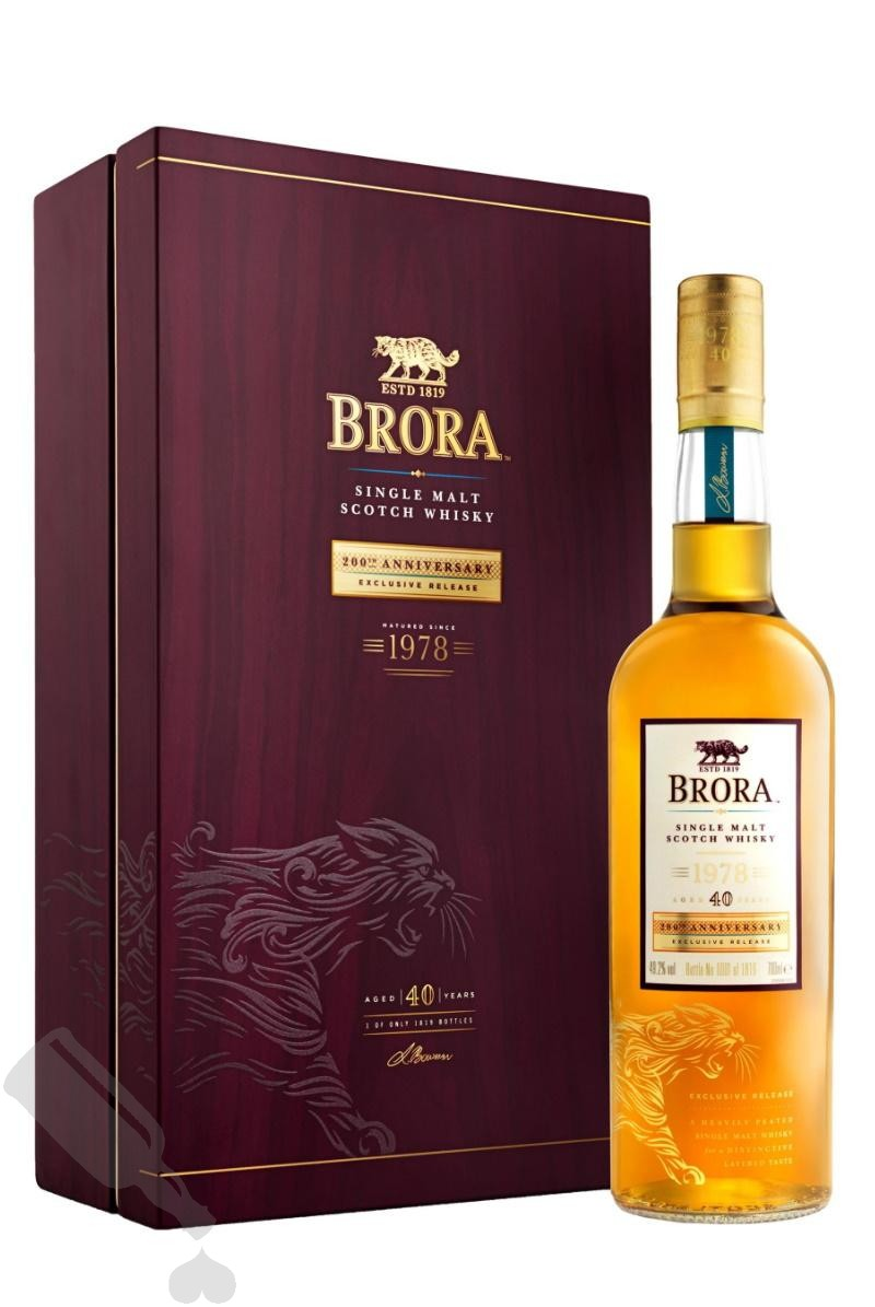 Brora 40 years 1978 - 2019 200th Anniversary