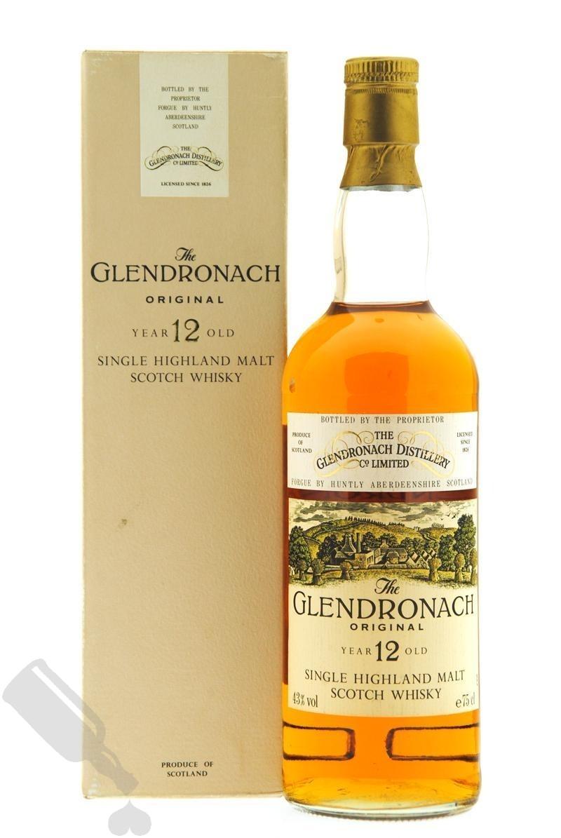 Glendronach 12 years Original 75cl - Old Bottling