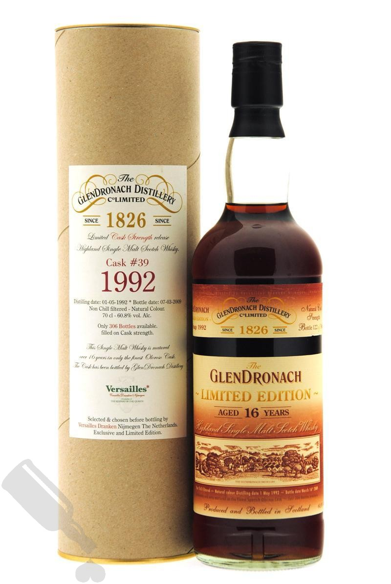 GlenDronach 16 years 1992 - 2009 #39 Limited Edition