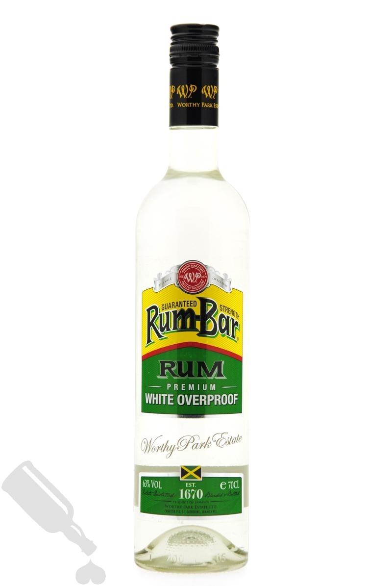 Worthy Park Rum-Bar White Overproof