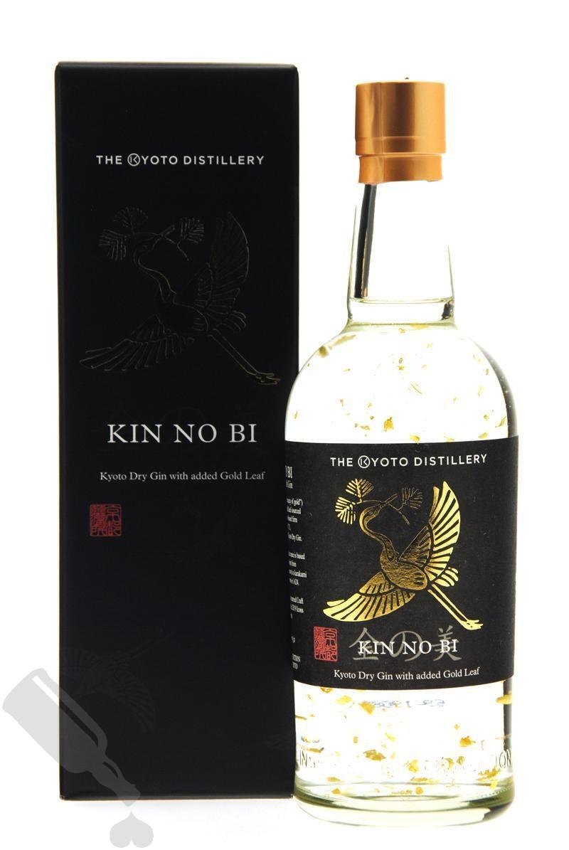 KIN NO BI Kyoto Dry Gin with added Gold Leaf