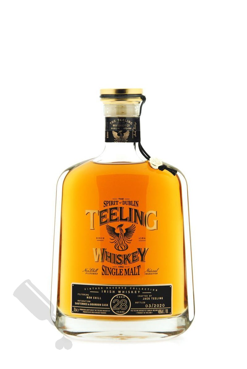 Teeling 28 years Vintage Reserve Collection