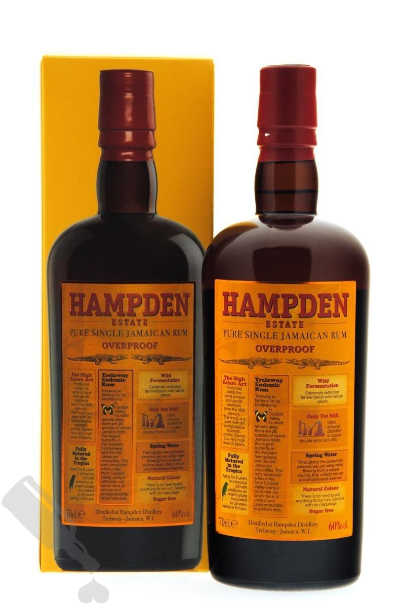 Hampden Pure Single Jamaican Rum Overproof