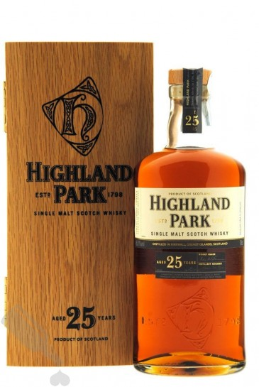 Highland Park 25 years bottled 2012