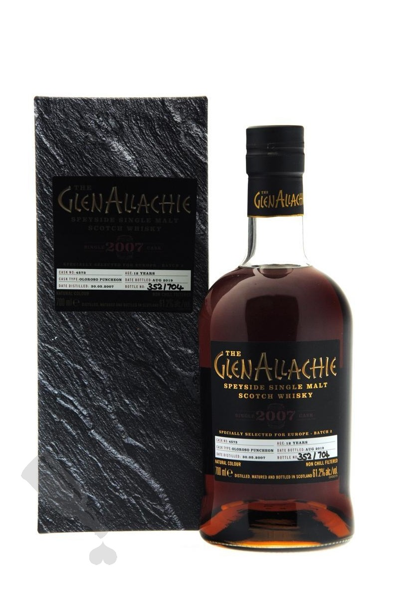 GlenAllachie 12 years 2007 - 2019 #4573 For Europe - Batch 2