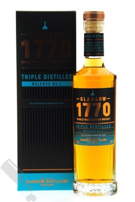 Glasgow 1770 Triple Distilled Release No.1 50cl