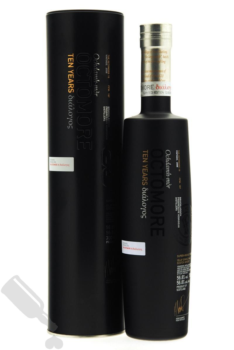 Octomore 10 years 2008 - 2018 Third Limited Edition