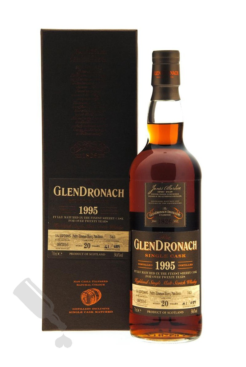 GlenDronach 20 years 1995 - 2016 #543