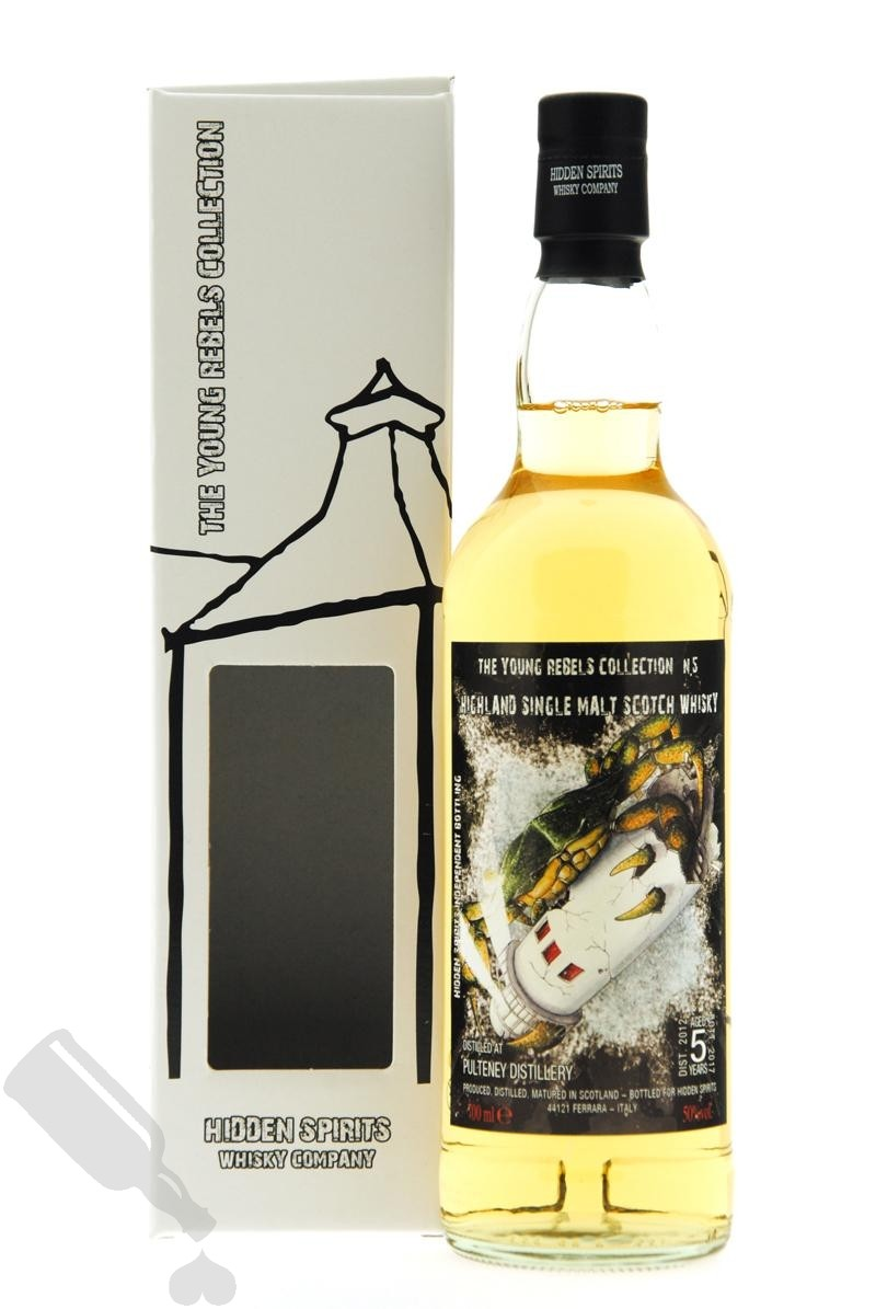 Pulteney 5 years 2012 - 2017 The Young Rebels Collection N.5