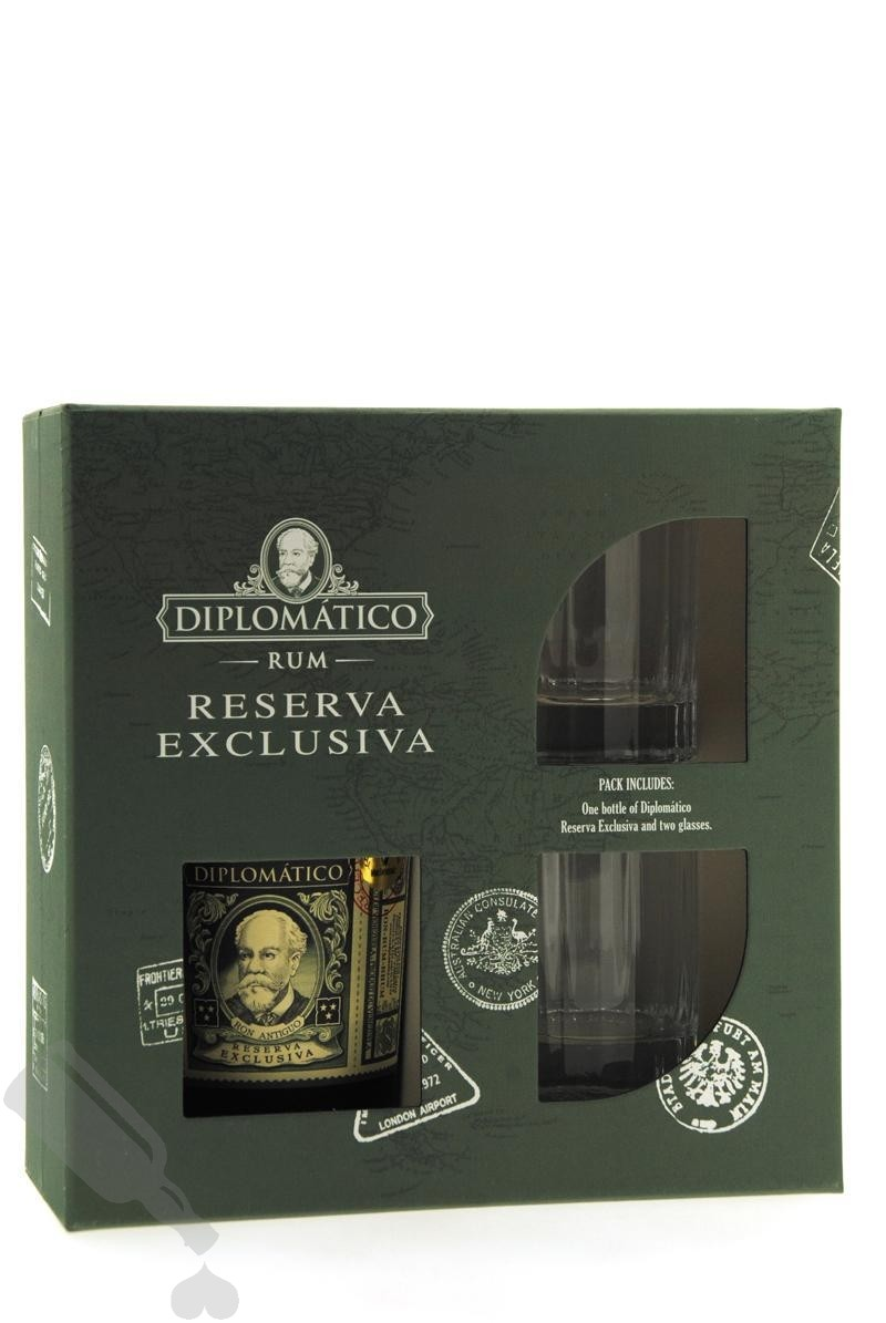 Diplomático Reserva Exclusiva - Giftpack