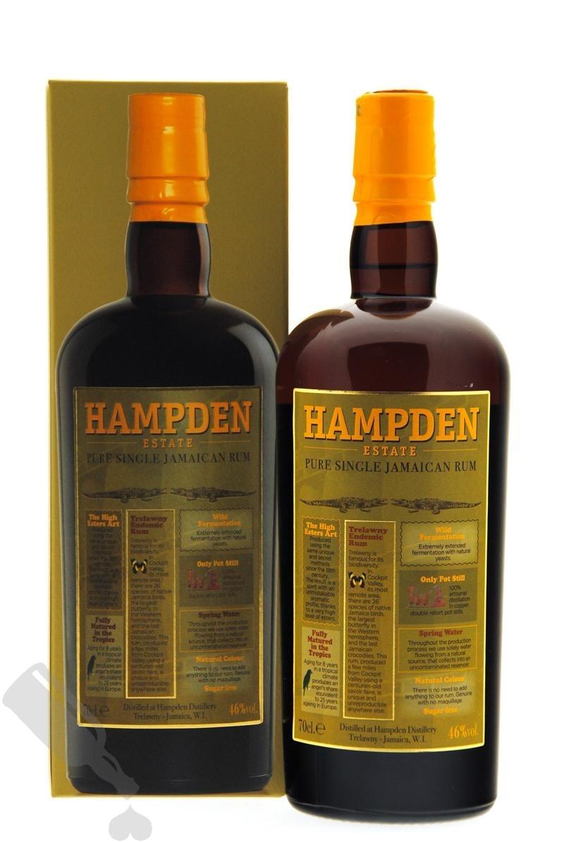Hampden Pure Single Jamaican Rum