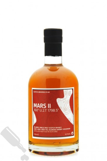 Mars II 2007 - 2020 First Fill Oloroso Sherry Hogshead