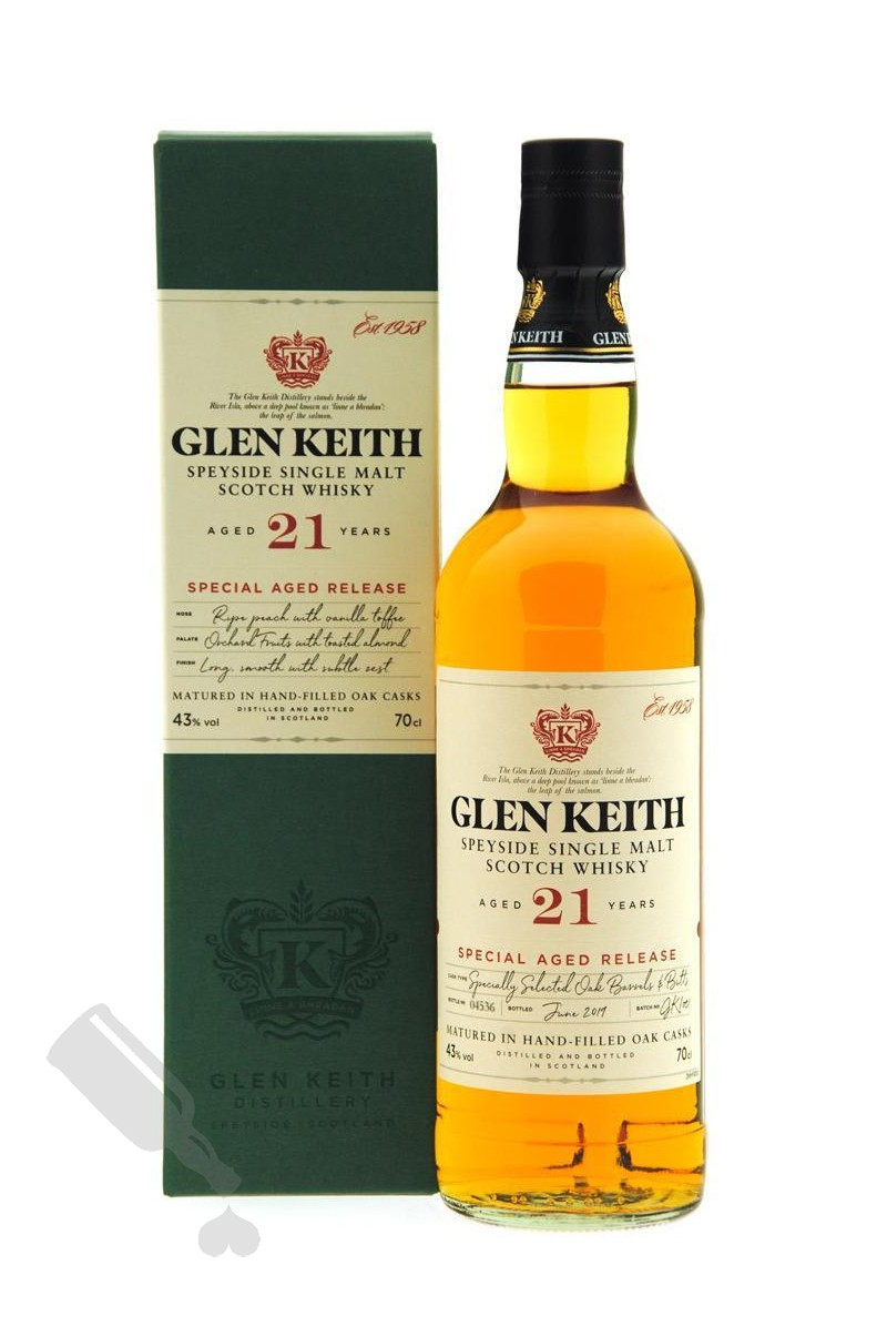 Glen Keith 21 years Special Aged Release