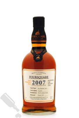 Foursquare 12 years 2007 - 2019 Exceptional Cask Selection Mark X