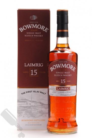 Bowmore 15 years Laimrig - Batch No.3