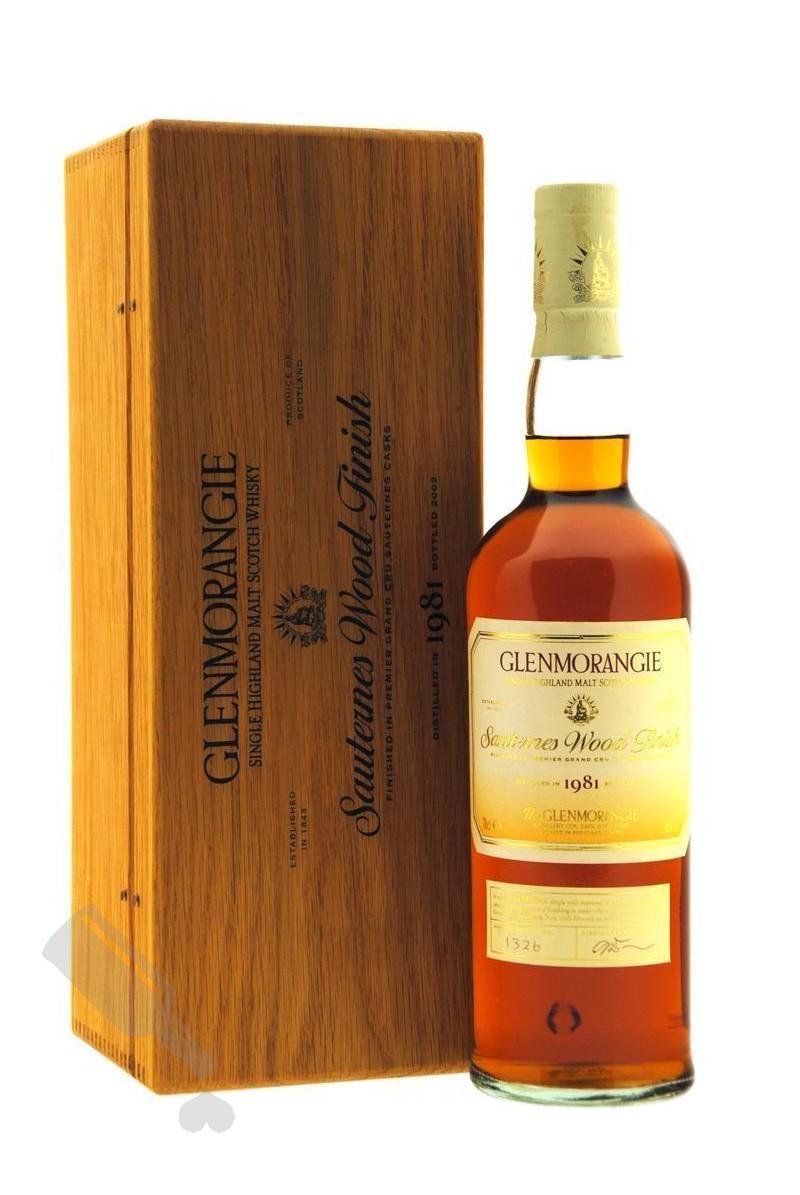 Glenmorangie 1981 - 2002 Sauternes Wood Finish