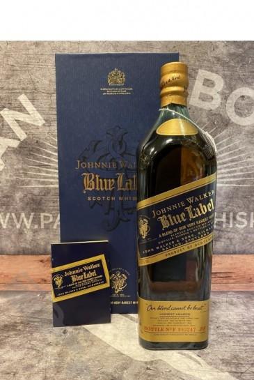 Johnnie Walker Blue Label 100cl - Old Bottling