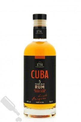 Cuba 5 years 1731 Fine & Rare
