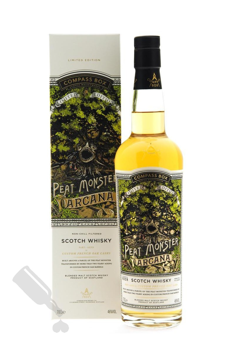Compass Box The Peat Monster - Arcana