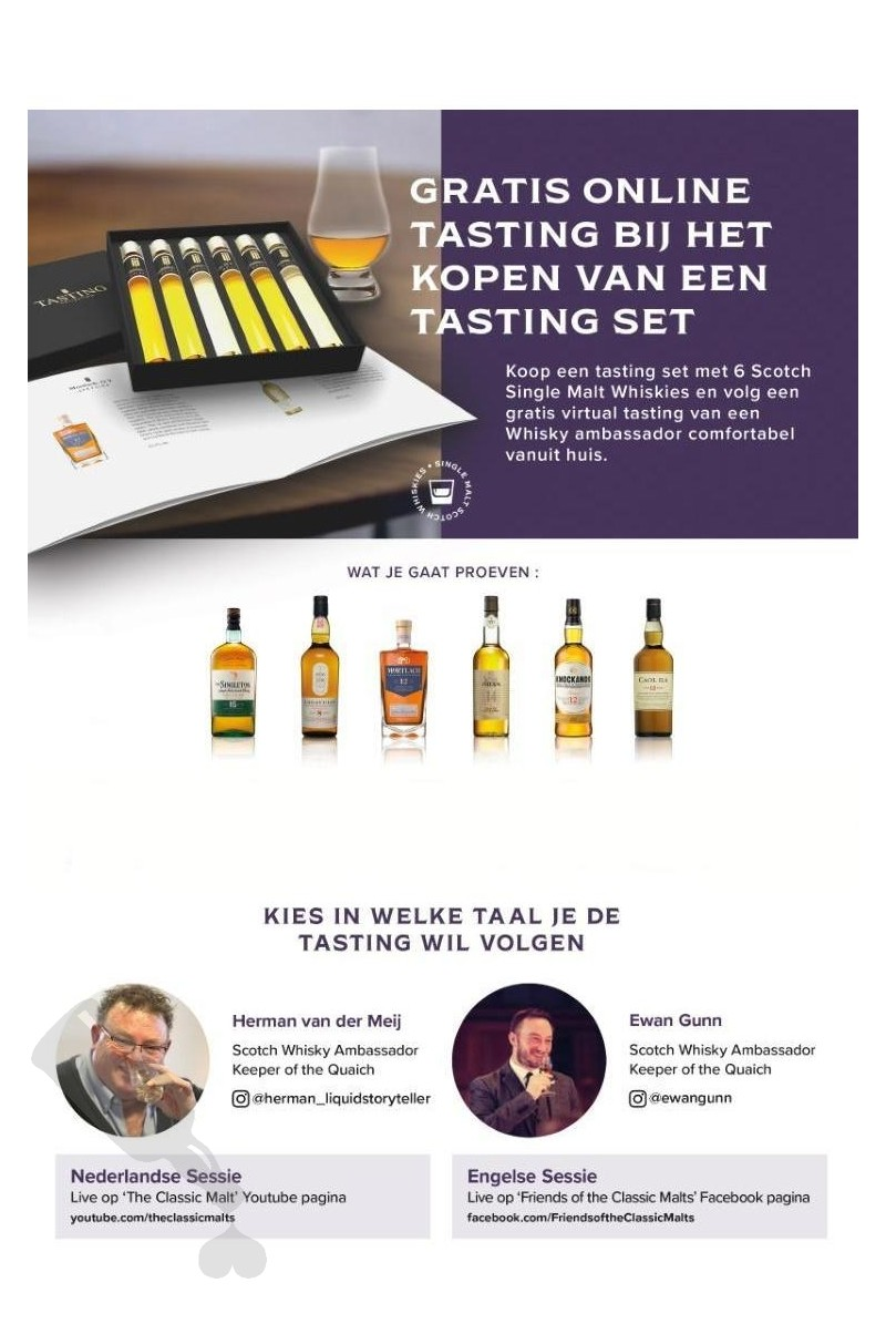 Scotch Whisky Tasting Collection - Virtual Tasting