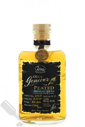 Zuidam Oude Genever 1 year 2019 - 2020 Peated American Oak Special No. 21 100cl