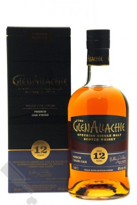 GlenAllachie 12 years French Virgin Oak Finish