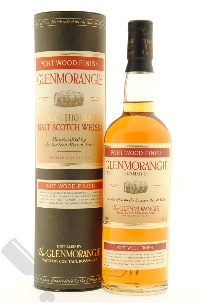 Glenmorangie Port Wood Finish - Old Bottling