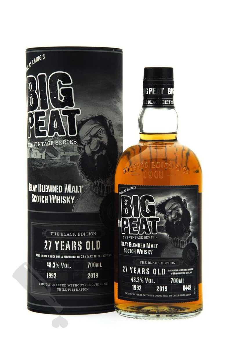 Big Peat 27 years 1992 - 2019 The Black Edition