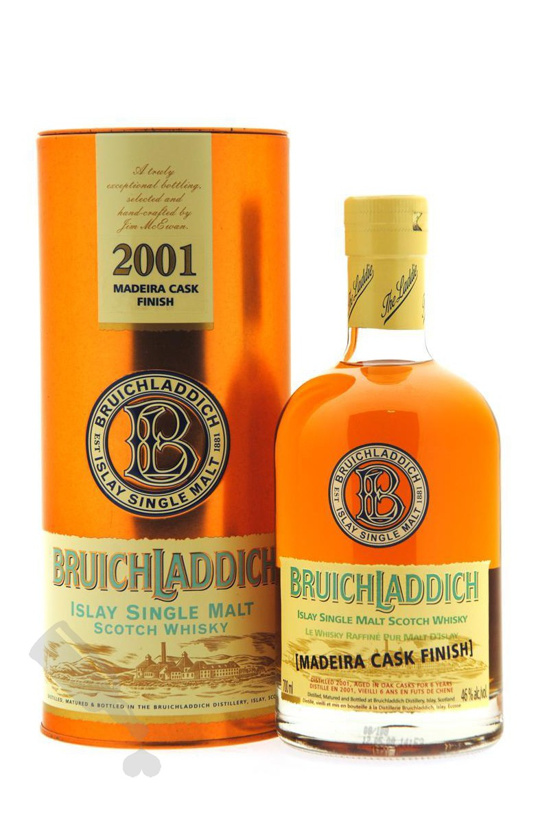 Bruichladdich 6 years 2001 Madeira Cask Finish