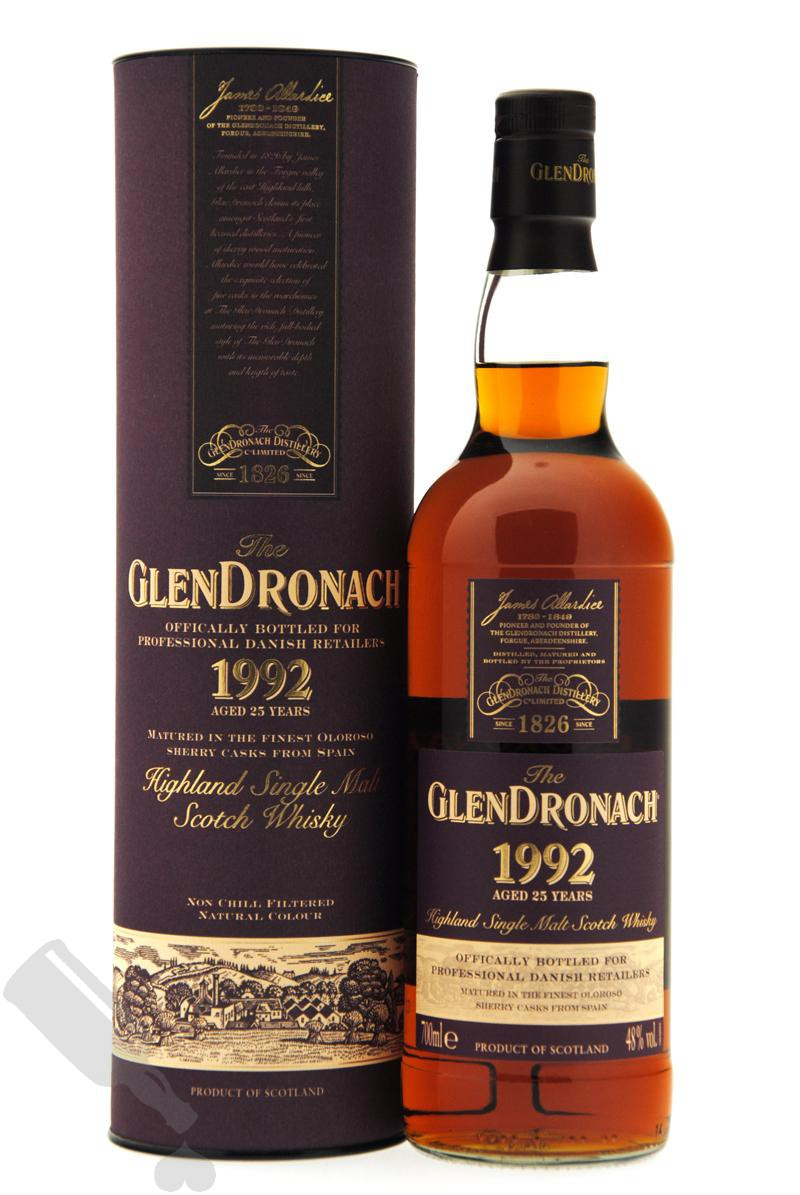 GlenDronach 25 years 1992 for Professional Danish Whisky Retailers
