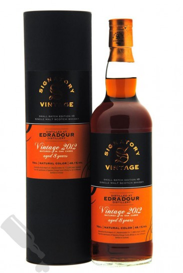 Edradour 8 years 2012 - 2020 Small Batch Edition #8