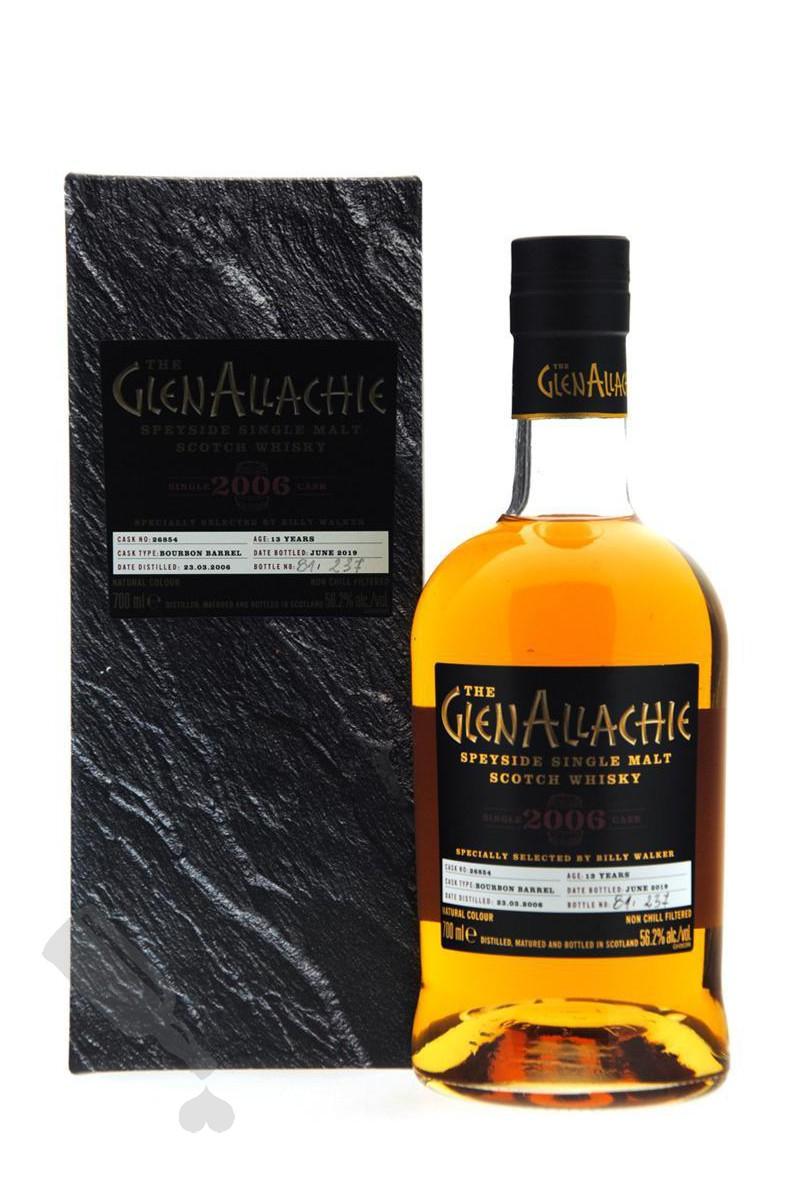 GlenAllachie 13 years 2006 - 2019 #26854 Single Cask Bourbon Barrel