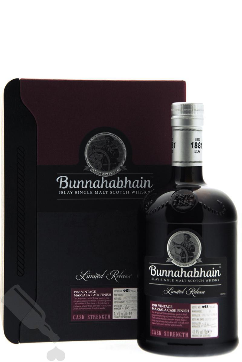 Bunnahabhain 30 years 1988 - 2019 Marsala Cask Finish