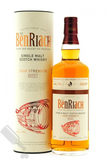 BenRiach Cask Strenght Batch 1