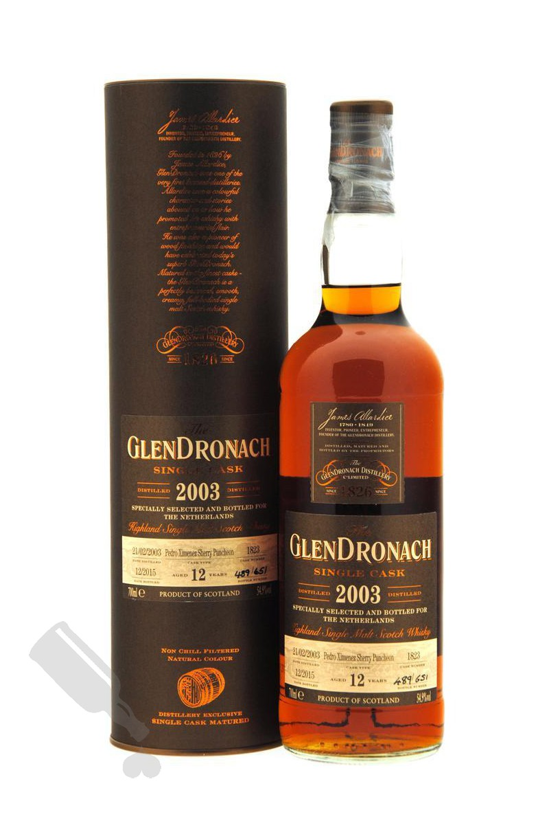 GlenDronach 12 years 2003 - 2015 #1823 for The Netherlands