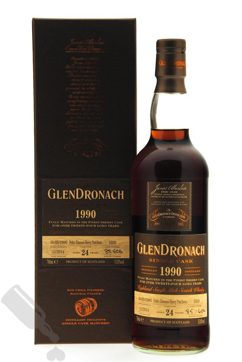 GlenDronach 24 years 1990 - 2014 #1020