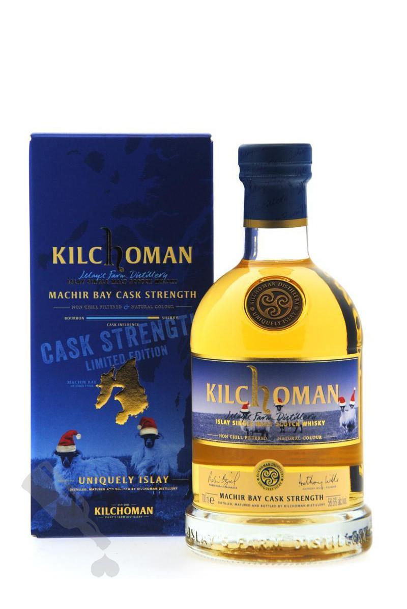 Kilchoman Machir Bay Cask Strength Limited Christmas Edition