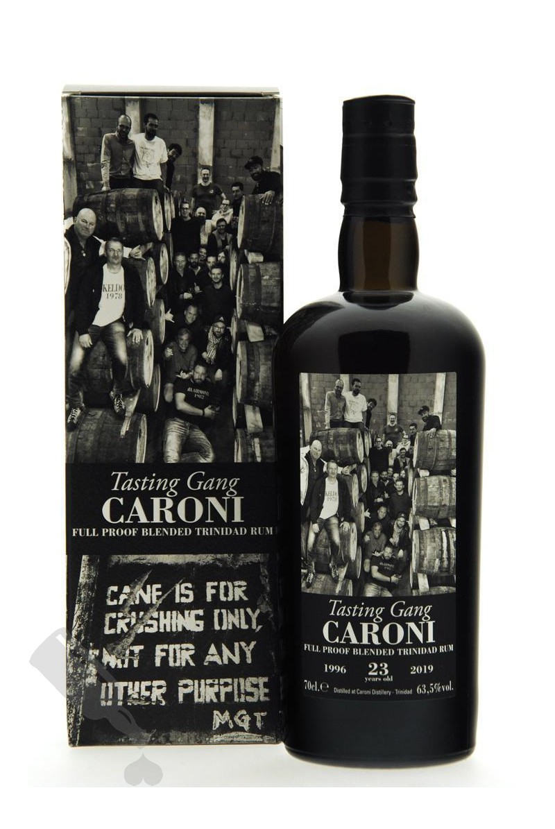 Caroni 23 years 1996 - 2019 Tasting Gang 38th Release Velier