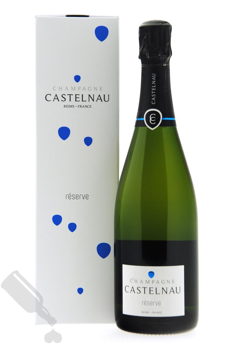 Castelnau Brut Réserve in giftpack
