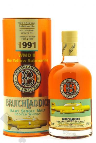 Bruichladdich 14 years 1991 WMD II The Yellow Submarine