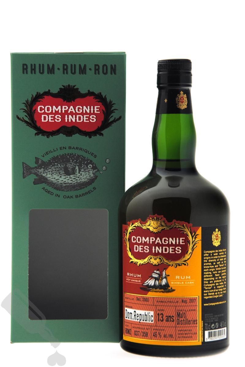 Multi Distilleries 13 years 2003 - 2017 #RDM2 Compagnie des Indes