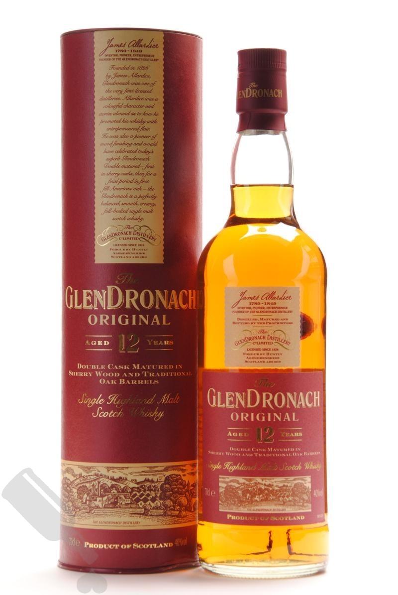 GlenDronach 12 years Original - Old Bottling