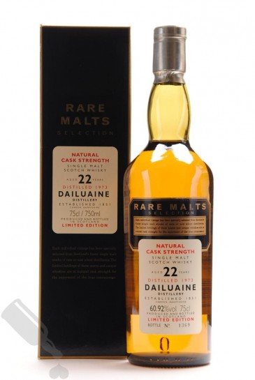 Dailuaine 22 years 1973 75cl