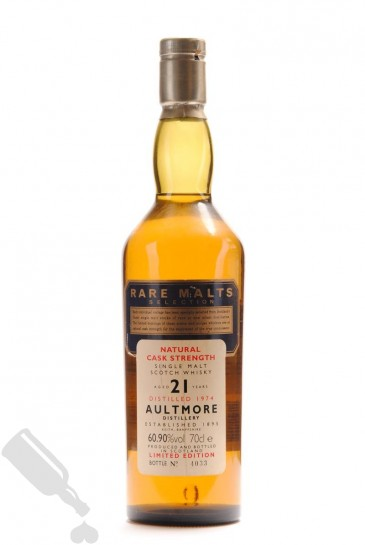 Aultmore 21 years 1974