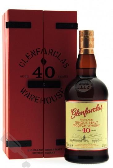 Glenfarclas 40 years