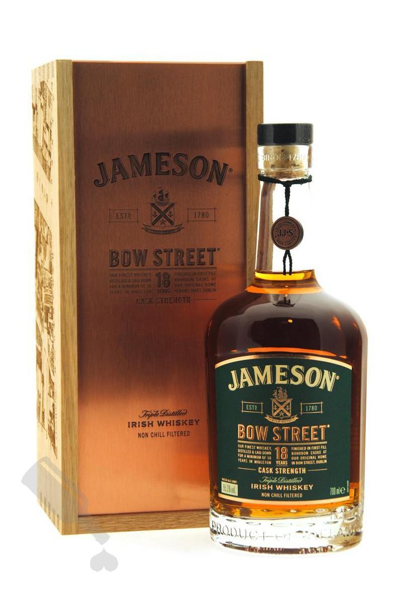 Jameson Bow Street 18 years Cask Strength