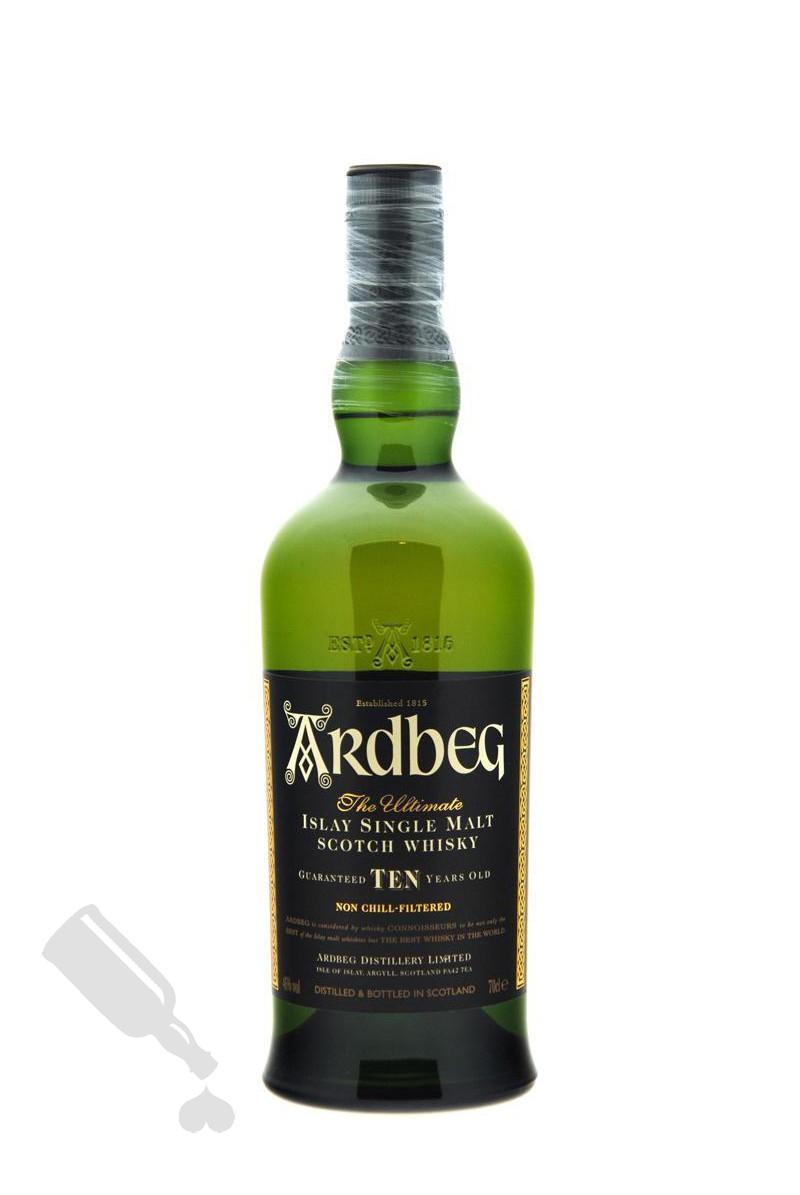 Ardbeg 10 years bottled 2010